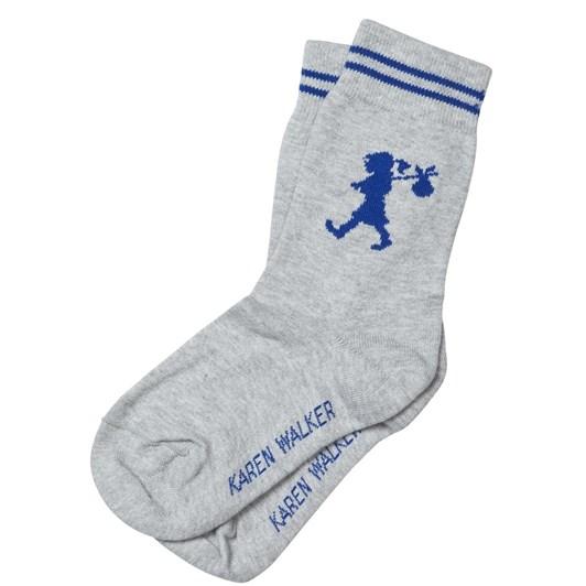 Karen Walker Runaway Girl Ankle Sock