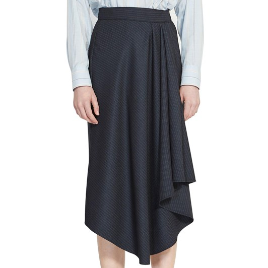 Karen Walker Galvanize Wrap Skirt