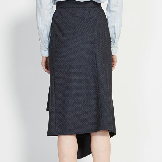 Karen Walker Galvanize Wrap Skirt