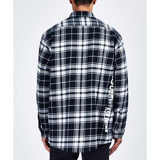 Ksubi Stereo L/S Shirt - B&W Check