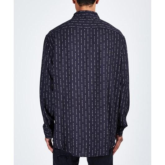 Ksubi Dymo L/S Shirt - Black