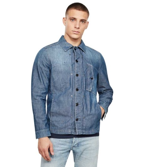 G-Star Scutar Denim Overshirt