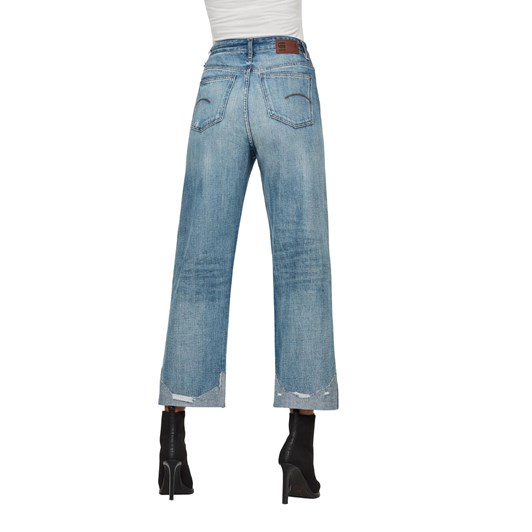 G-Star Tedie Ultra High Straight Rip Ankle Wmn