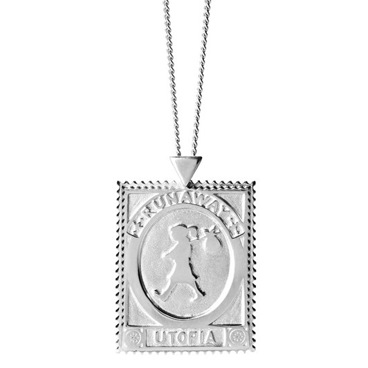 Karen Walker Utopia Stamp Necklace