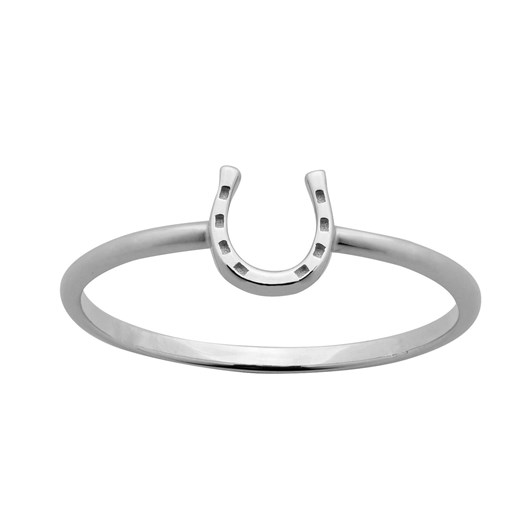 Karen Walker Mini Horseshoe Ring