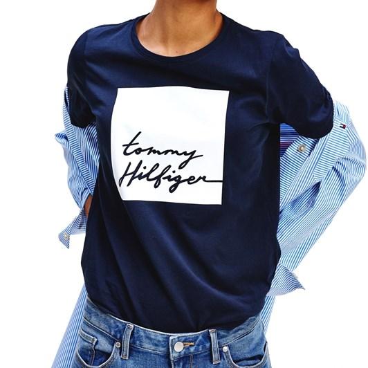 Tommy Hilfiger Alissa Regular C-Nk Tee S/S
