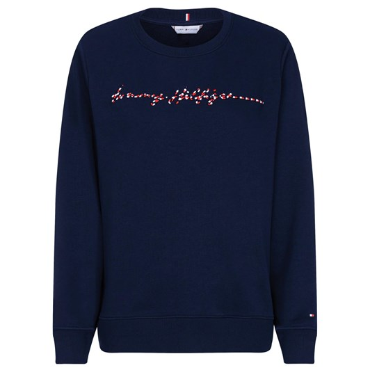 Tommy Hilfiger Annie Relaxed C-Nk Sweatshirt L/S