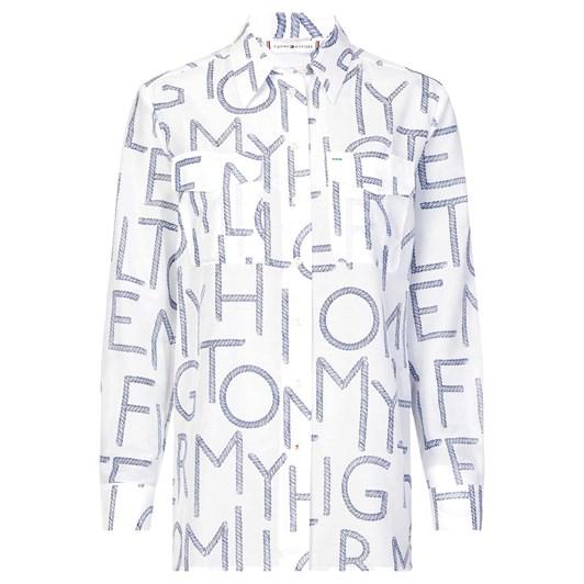 Tommy Hilfiger Leila Prt Shirt L/S W4