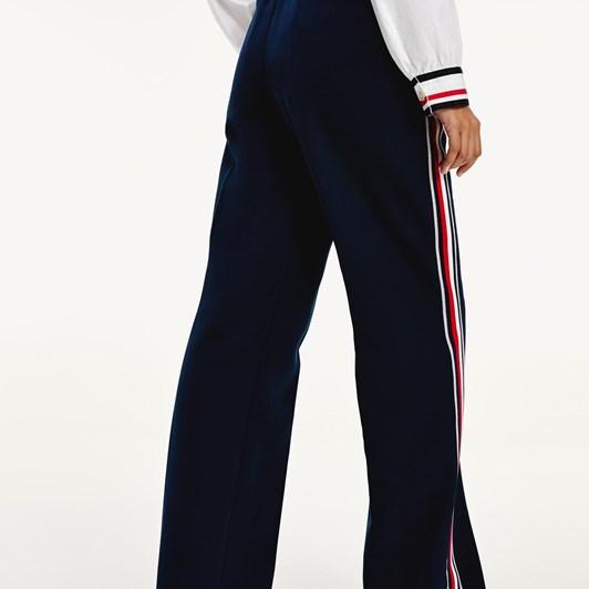 Tommy Hilfiger Icon Double Crepe Wide Leg Pant