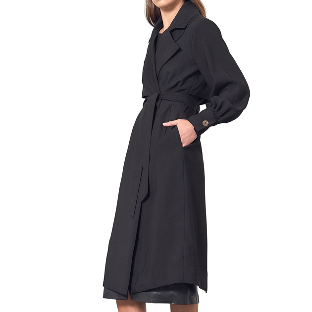 Viktoria & Woods Sophomore Trench - black