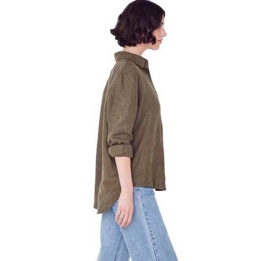 Assembly Label Xander Linen Shirt
