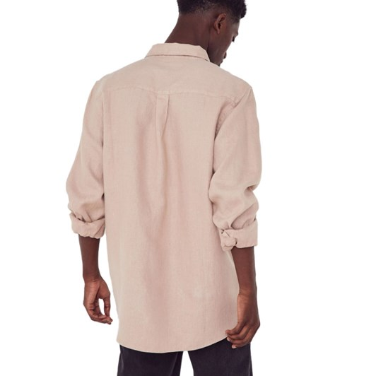 Assembly Label Casual Long Sleeve Shirt