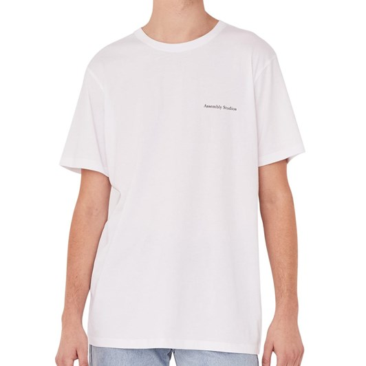 Assembly Label Serif Tee