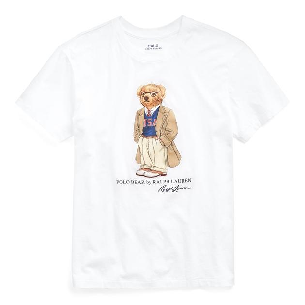 Polo Ralph Lauren Bear Big Tee Short Sleeve - white-100