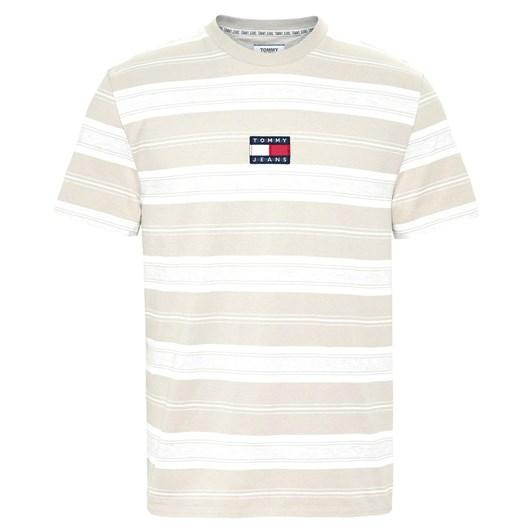 Tommy Jeans Tjm Stripe Logo Tee