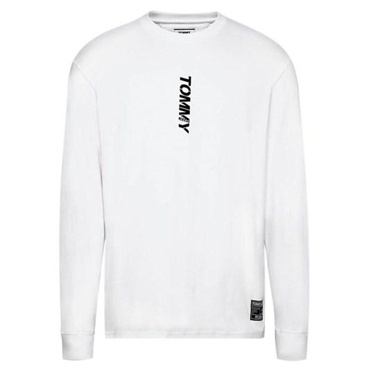 Tommy Jeans Tjm Longsleeve Vertical Logo Tee