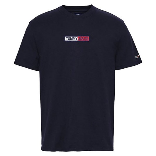 Tommy Jeans Tjm Embroidered Box Logo Tee