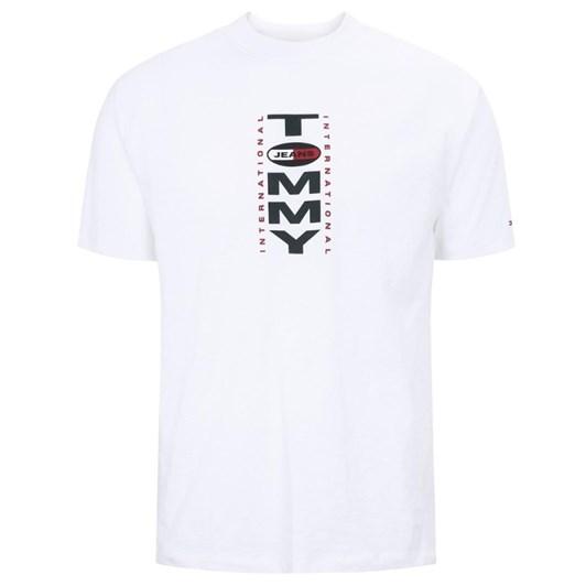 Tommy Jeans Tjm Vertical Back Logo Tee