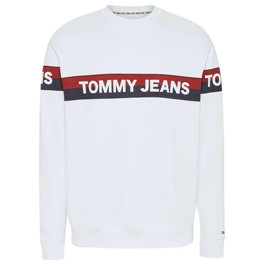 Tommy Jeans Tjm Band Logo Crew