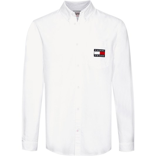 Tommy Jeans Tjm Oxford Badge Shirt
