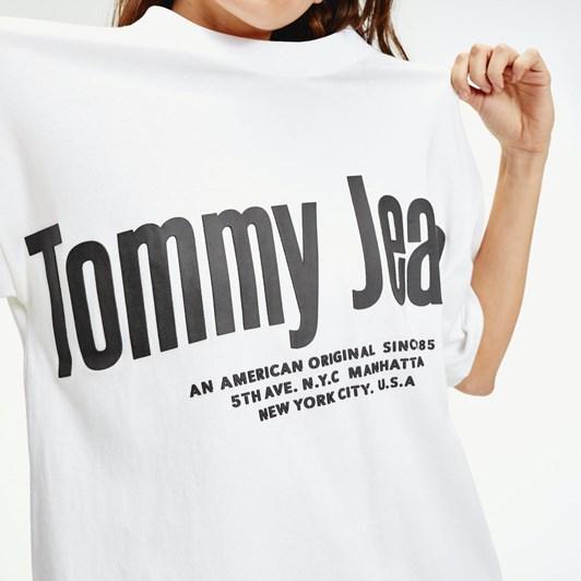 Tommy Jeans Tjw Diagonal Logo Tee