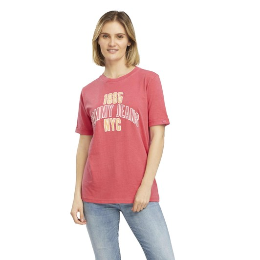 Tommy Jeans Tjw College Logo Tee