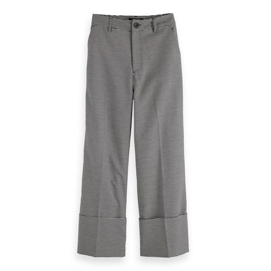 Maison Tailored Cropped Wide Leg Pant