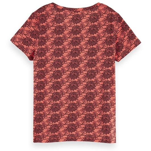 Maison Printed Boxy Fit Tee - Combo D