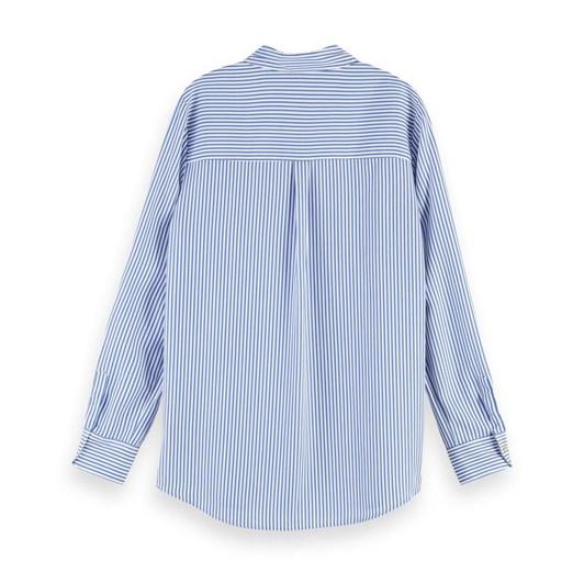 Maison Striped Oversized Shirt