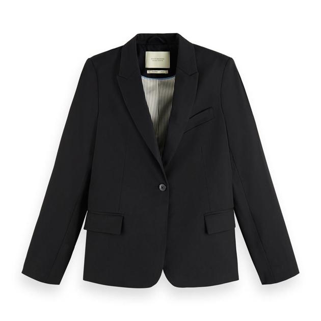 Maison Classic Tailored Blazer - black