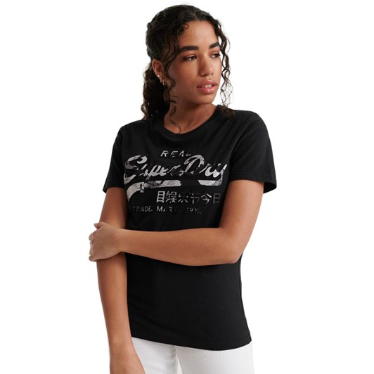 Superdry Vl Photo Rose Entry Tee