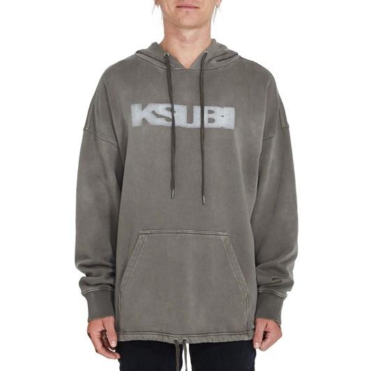 Ksubi Sign Of The Times Revival Hoodie - Grey