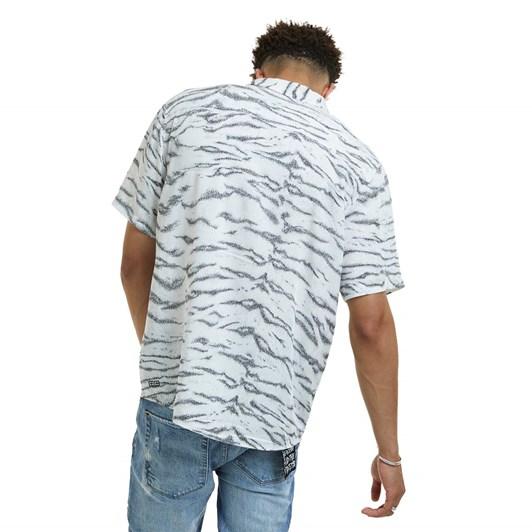 Ksubi Riot S/S Shirt - White