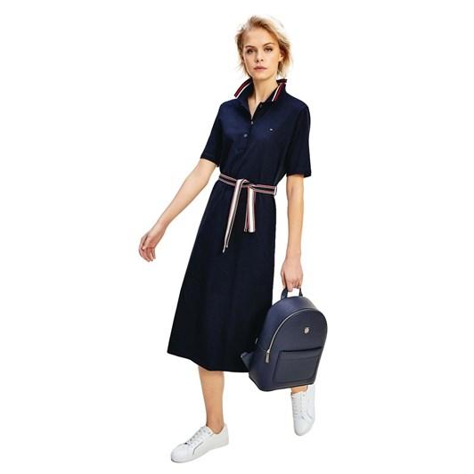 Tommy Hilfiger Brenna Reg Polo Dress 1/2 Slv