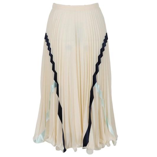 See By Chloe Embellished Georgette Skirt