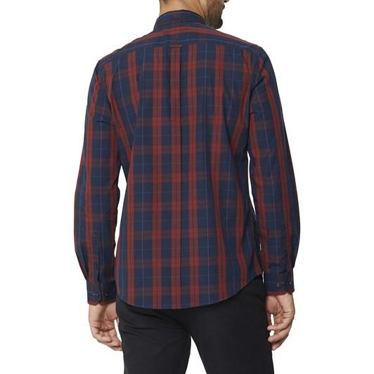 Ben Sherman Twin Check L/S Mod Shirt