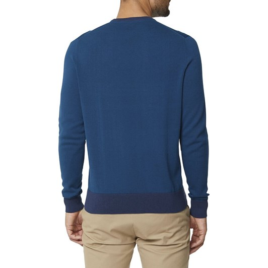 Ben Sherman Crew Neck With Contrast Cuff
