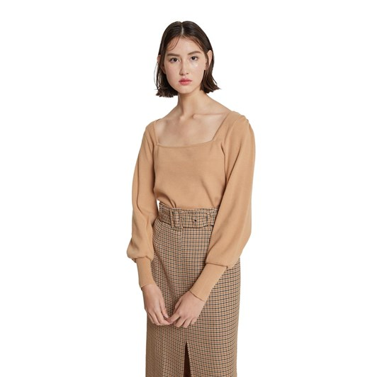 Hi There Karen Walker Hi There Fawn Knit