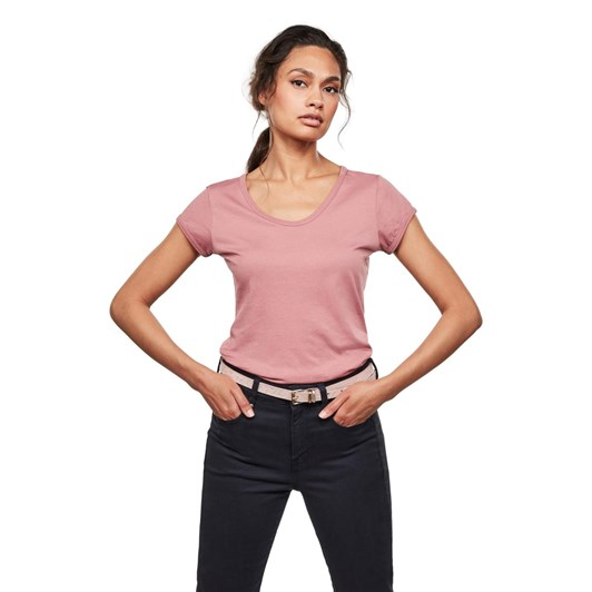 G-Star Core Eyben Slim U T-Shirt Wmn S\S