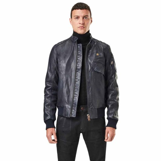 G-Star Haworx Pdd Leather Jacket
