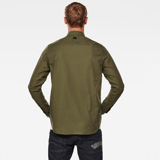 G-Star Stalt Regular Patch Pkt Shirt L\S