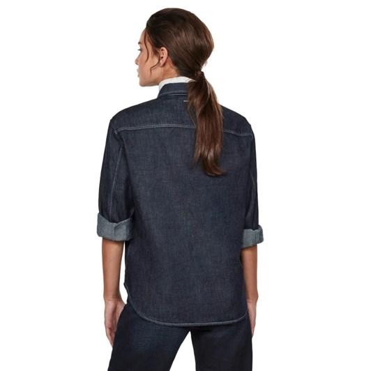 G-Star Western Denim Relaxed Shirt Wmn L\S