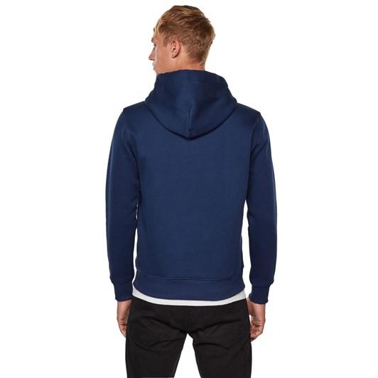 G-Star Varsity Felt Hooded Sweatshirt L\S
