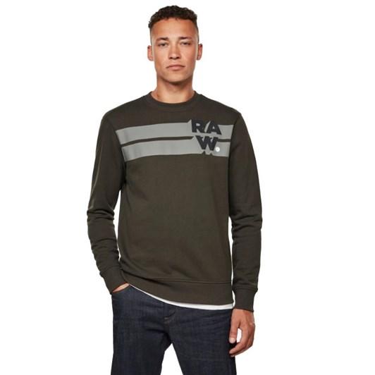 G-Star Logo Blocked Sweatshirt L\S