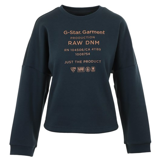 G-Star Graphic Text Relaxed Sweatshirt Wmn L\S