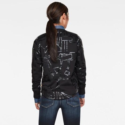 G-Star Line Art Ao Xzyph Sweatshirt Wmn L\S