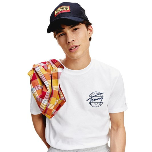 Tommy Jeans Round Back Logo Tee