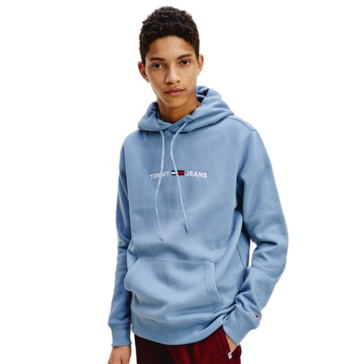 Tommy Jeans Straight Logo Hoodie