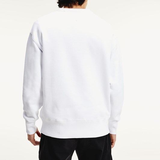 Tommy Jeans Small Flag Crew