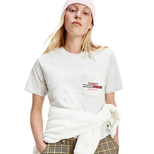 Tommy Jeans Pocket Flag Tee